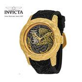【INVICTA】S1-毛利魚賽車錶 50.5mm-金色