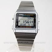 DB-380-1 CASIO 卡西歐 方型 銀色 電子錶 32mm 男錶 中性錶DB-380-1DF