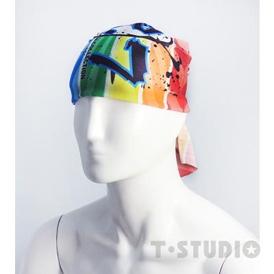 【PAR.T】彩虹文創小物/造型配件/彩虹穿搭-彩虹魔術頭巾(拳擊版)