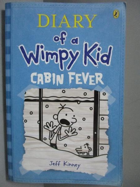 【書寶二手書T5/原文小說_NOD】Cabin Fever_Jeff Kinney