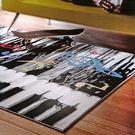 范登伯格 普利★帥性風味進口地毯-鋼琴樂-117x170cm