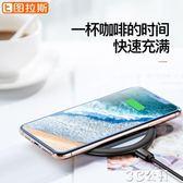 無線充電器蘋果X無線充電器XR8P手機iPhone快充XsMax華為p30pro底座通用板3C公社