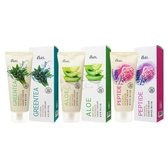 韓國 ekel 天然 綠茶/蘆薈/肽太 護手霜(100ml) 款式可選【小三美日】