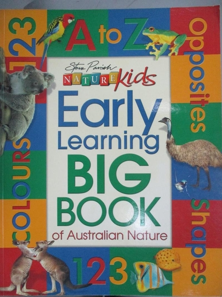 【書寶二手書T6/雜誌期刊_YHV】EARLY LEARNING BIG BOOK_STEVE PARISH