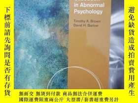 二手書博民逛書店Casebook罕見in Abnormal Psychology