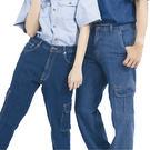 【2719B】彈力貼袋牛仔褲(斜口袋)(...