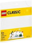 【LEGO樂高】CLASSIC 白色底板 #11010