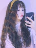 假髮 假髪女長髪長捲髪新式髪套網紅泡面羊毛捲自然【免運直出】