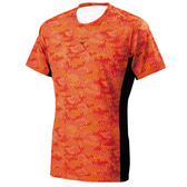 美津濃Mizuno~吸汗快乾 抗菌消臭 慢跑 路跑 路跑短袖T恤 (J2TA700262)
