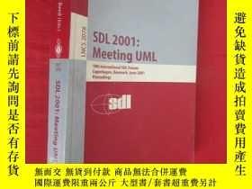 二手書博民逛書店Sdl罕見2001: Meeting UML: 10th International ... (小16開) 【詳見
