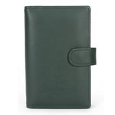 BURBERRY年度限量戰馬LOGO皮革手帳冊(墨綠色)086064-2