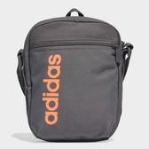 Adidas 斜背包 登山 休閒 小背包 訓練 灰 橘【運動世界】FM6770