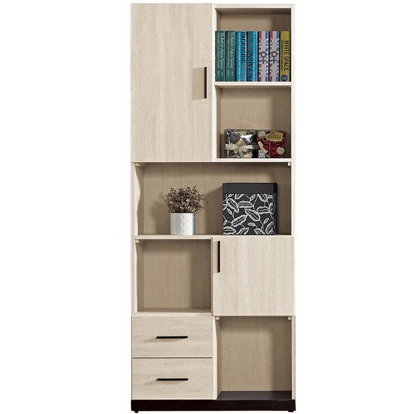 書櫃 書櫥 QW-633-2 伊凡卡2.7尺書櫃【大眾家居舘】