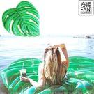 ◇方妮FaNi◇實拍❤歐美原單【巨大葉子充氣床葉子泳圈葉子游泳圈浮板葉子充氣泳圈】