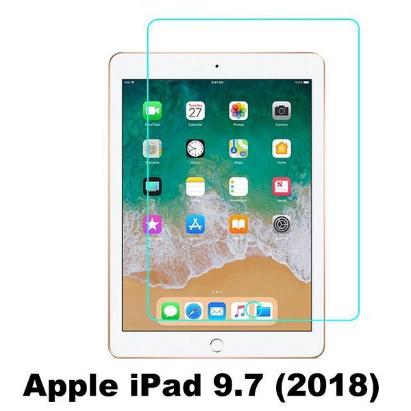 APPLE 9H 平版鋼化玻璃 iPad 2 3 4 mini 2019 mini 2 mini 3 mini 4 Air 2 2019 Pro 10.5 2017 2018 9.7 保護貼