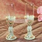 一定要幸福哦~~浪漫玫瑰婚宴對杯、婚禮小物、姐妹禮、結婚證書