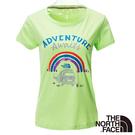 The North Face 女 FLASHDRY短袖T恤-芽綠 NF00CE2QEEK-AA【GO WILD】