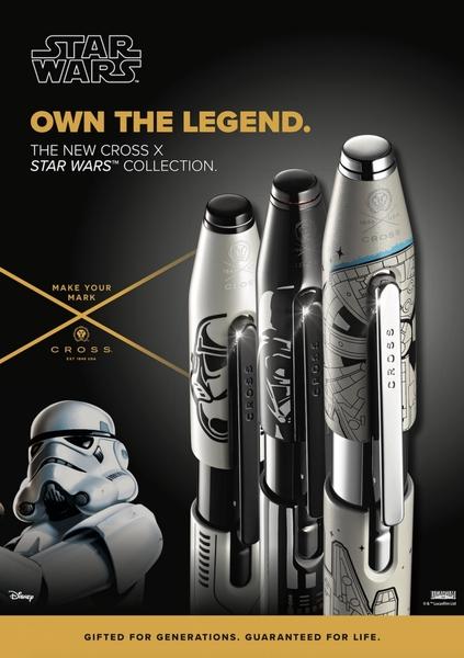 高仕CROSS-鋼珠筆-星際大戰白兵