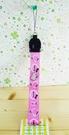 【震撼精品百貨】Hello Kitty 凱蒂貓~短手機吊繩-粉側坐