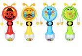 知識花園嬰兒手搖鈴3-4-6-12個月寶寶玩具0-1歲新生兒牙膠撥浪鼓  印象家品旗艦店