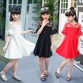 新款韓版兒童淑女裙夏季蕾絲公主裙子潮