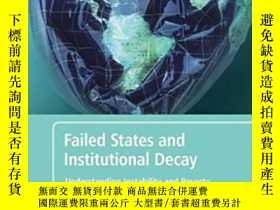 二手書博民逛書店Failed罕見States And Institutional Decay-失敗國家與制度衰敗Y436638