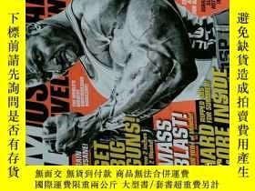二手書博民逛書店MD罕見MUSCULAR DEVELOPMENT 2013 07 健身雜誌 外文原版時尚雜誌 男子健美健身雜誌
