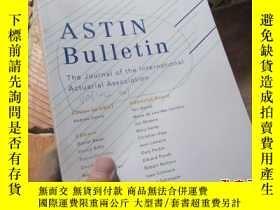 二手書博民逛書店astin罕見bulletin the journal of t