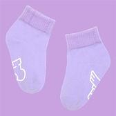 馬卡龍防滑2分之1童襪/14-15cm/夜空紫【sokker®】