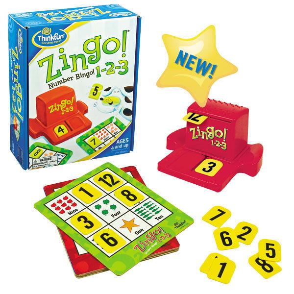 【Thinkfun】數字賓果123 桌上遊戲