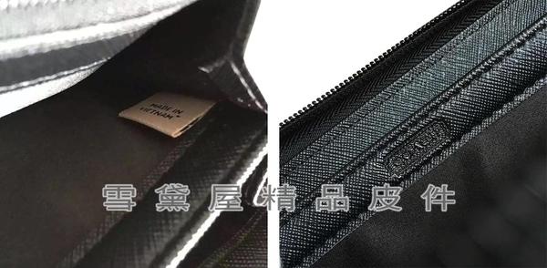 ~雪黛屋~COACH 長夾中性款國際正版保證進口防水防刮皮革U型拉鍊式主袋品證購證等候10-15日C745461