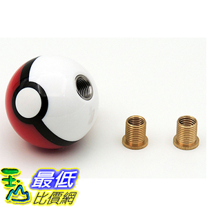 [美國直購] 神奇寶貝 精靈寶可夢周邊 SFVAN Pokemon PO-01 Pokeball Round Shift Knob Available Fits Most Cars