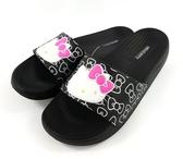 HELLO KITTY運動拖鞋《7+1童鞋》C075黑色