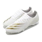 adidas 足球鞋 X Ghosted.3 FG 白 金 男鞋 室外足球鞋 短釘 釘鞋 運動鞋 【ACS】 EG8193