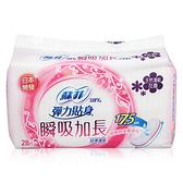 蘇菲 超薄護墊加長型(花香) 28片入【新高橋藥局】