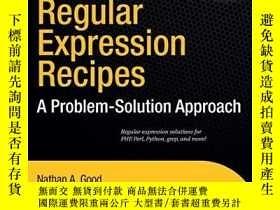 二手書博民逛書店Regular罕見Expression RecipesY255562 Nathan A. Good Apres