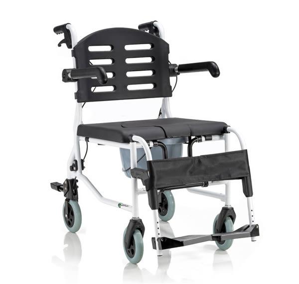 『COMFORT』康而富時尚輔具 CT-155 六輪便器椅/居家照護/洗澡椅 浴室 便盆椅