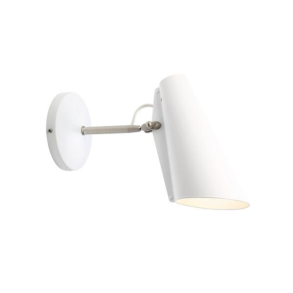 挪威 Northern Birdy Short Wall Lamp 博蒂系列 短版 壁燈(白色款 - 霧銀支架)
