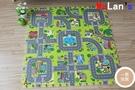 百姓館 地墊 寶寶卡通 爬行墊 拼接 游戲地墊 地墊 交通地圖 可訂製