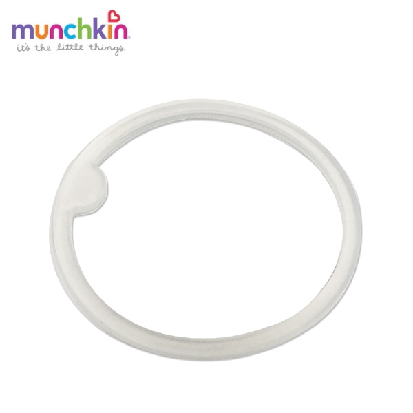 munchkin滿趣健-喵喵不鏽鋼吸管練習杯237ml-墊圈