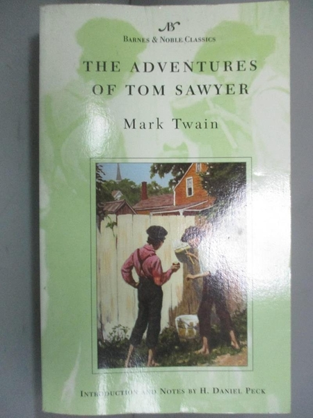 【書寶二手書T3/原文小說_INK】The Adventures of Tom Sawyer_Twain, Mark