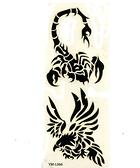 薇嘉雅 蠍子紋身貼紙L066