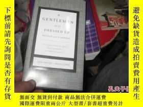 二手書博民逛書店A罕見GENTLEMAN GETS DRESSED U9837