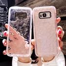 三星手機殼S8手機殼S9 Plus透明s7edge鑽石紋全包note9簡約Galaxy【東京衣秀】