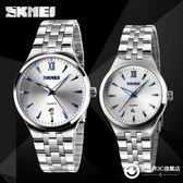 手錶 時尚防水簡約指針石英商務男錶情侶腕錶男學生手錶男女士