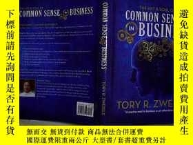 二手書博民逛書店COMMON罕見SENSE IN BUSINESS.Y20300
