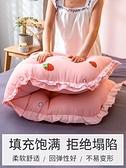韓版全棉床頭板大靠墊軟包可拆洗床上全棉大靠背沙發長靠枕床靠背 夢幻小鎮