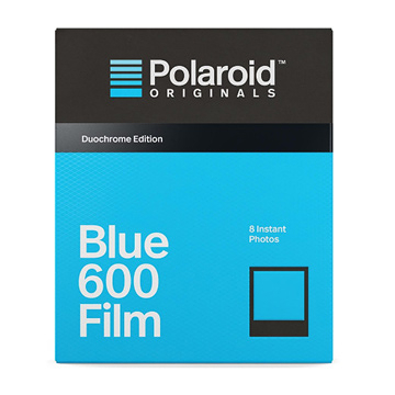 【過期品】Polaroid Blue Film for 600 Duochrome 藍色底片(黑框4693)/2盒