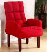 單人沙髮電視電腦沙髮椅餵奶哺乳椅日式折疊躺椅單人布藝沙髮 法布蕾輕時尚igo