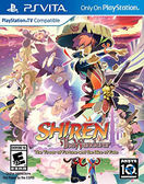 PSV Shiren The Wanderer: The Tower of Fortune and the Dice of Fate 不可思議的迷宮 風塵英雄 5(美版代購)